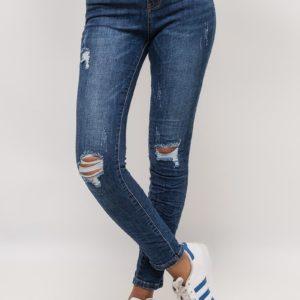 Jeans Genoux Déchirés
