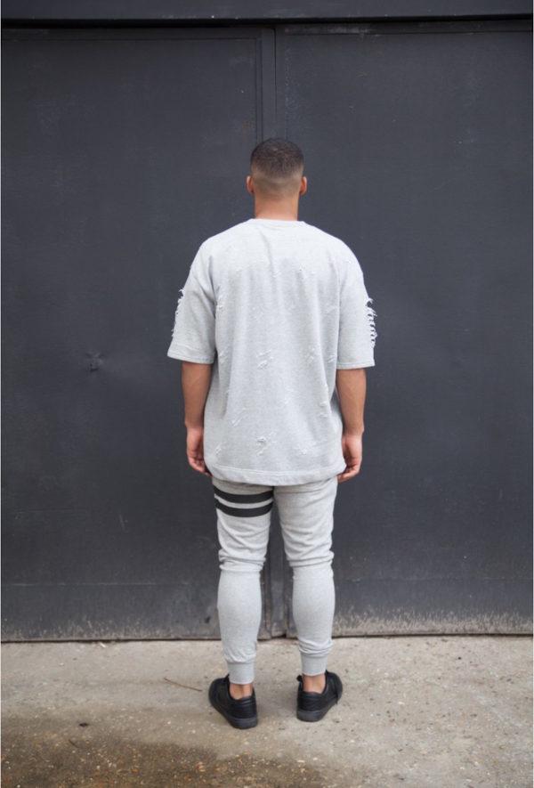 T-shirt Grey Sixth June Paris
