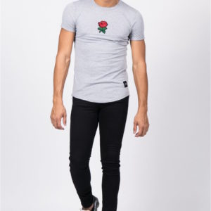 T-shirt Flower Grey Sixth June Paris