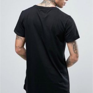 T-shirt rock Sixth June noir
